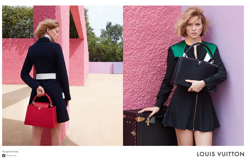 Lea Seydoux for Louis Vuitton 2016 Campaign (6)