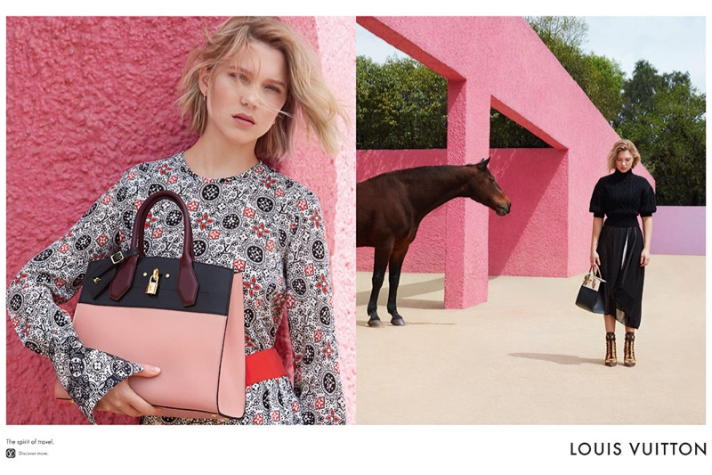 Lea Seydoux for Louis Vuitton 2016 Campaign (8)