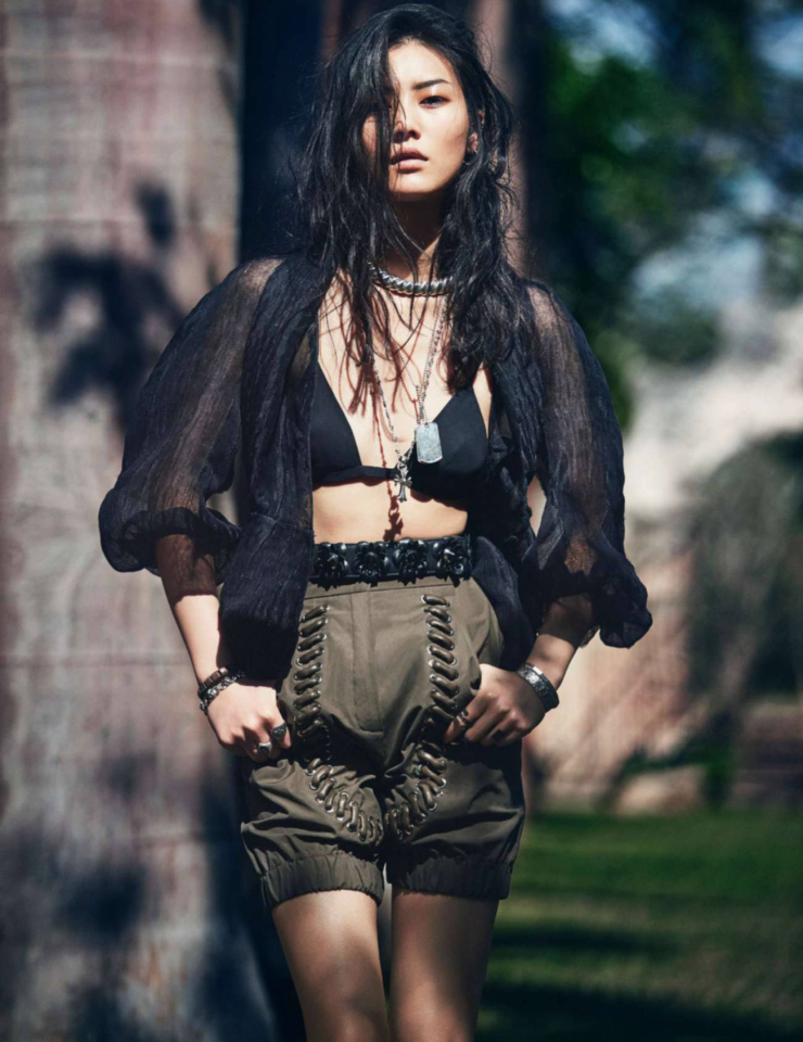 Liu Wen by David Bellemere (5)
