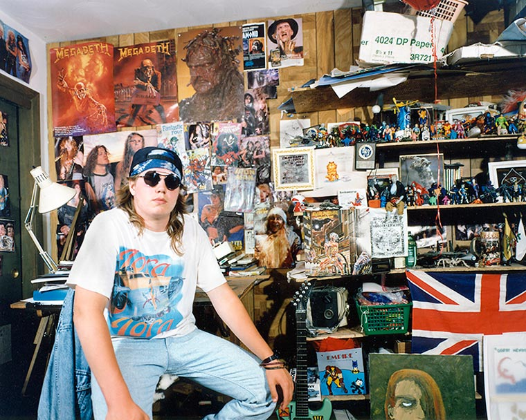 90's Teenagers in their Bedrooms (3)