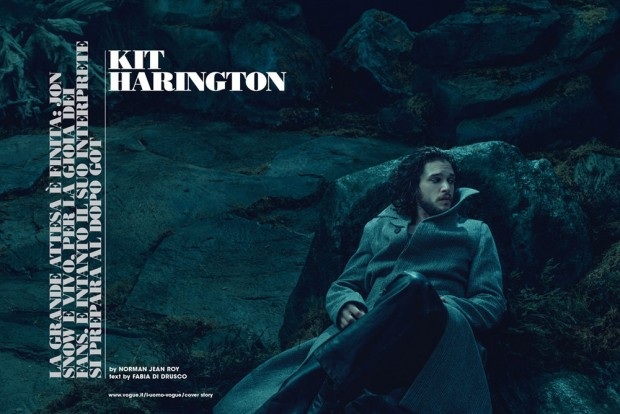 Kit Harington by Norman Jean Roy (3)