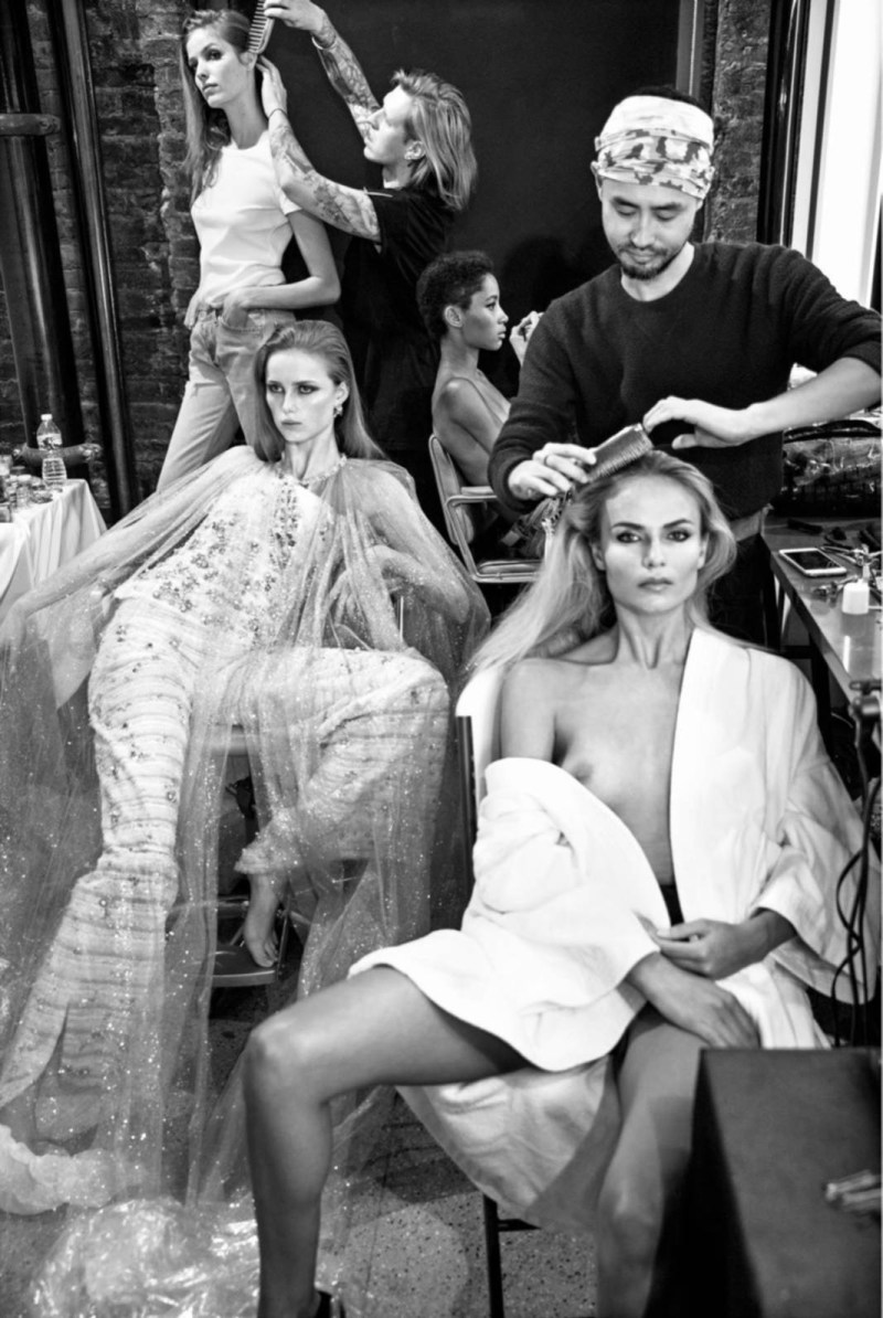 Natasha Poly, Anna Ewers, Lexi Boling, Rianne van Rompaey, Maria Borges, Lineisy Montero and Alisa Ahmann by Inez van Lamsweerde and Vinoodh Matadin (9)