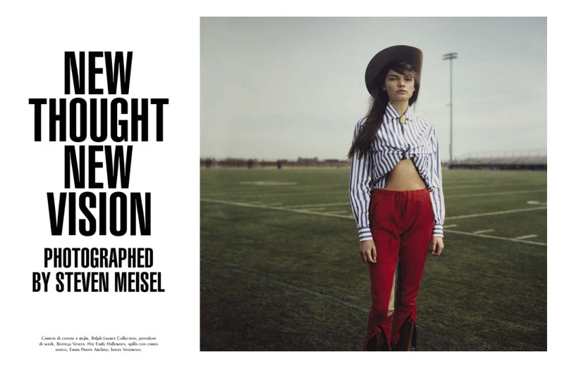 'New Thought New Vision' by Steven Meisel (5)