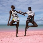 Pharrell Williams x Adidas Pink Beach Campaign by Viviane Sassen