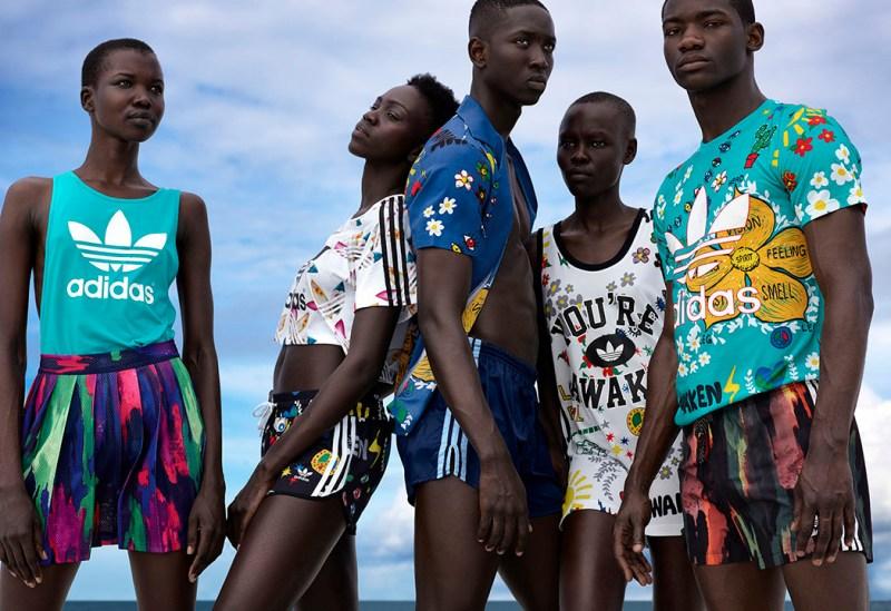 Pharrell Williams x Adidas Pink Beach Campaign by Viviane Sassen (6)
