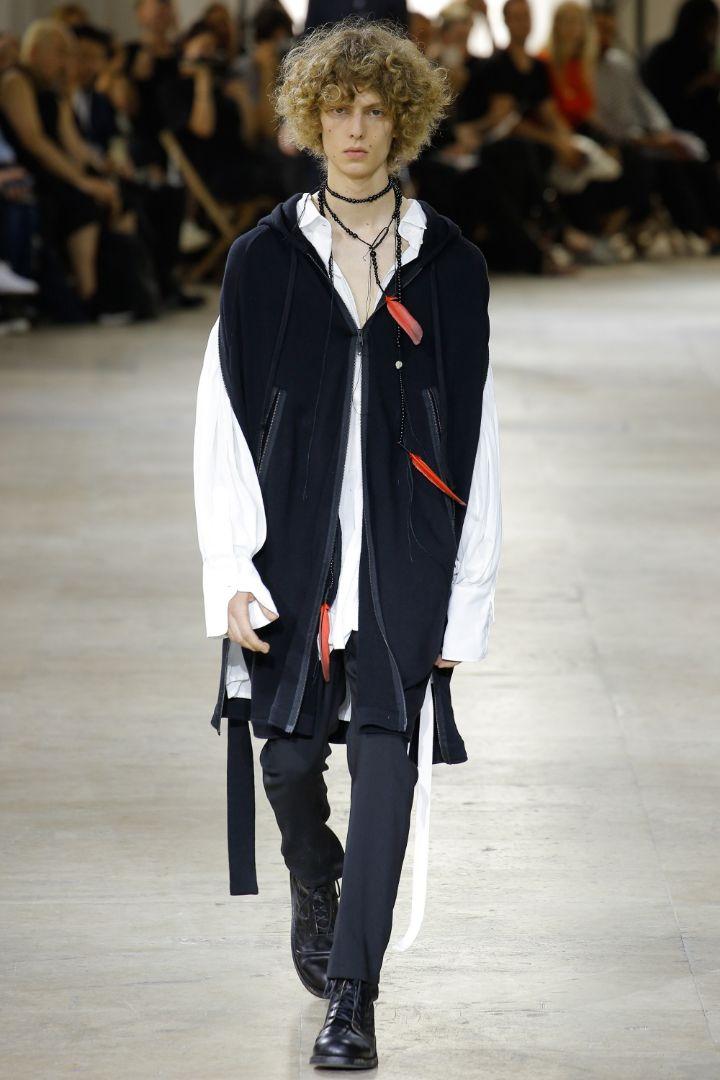 Ann Demeulemeester Menswear SS 2017 Paris (22)