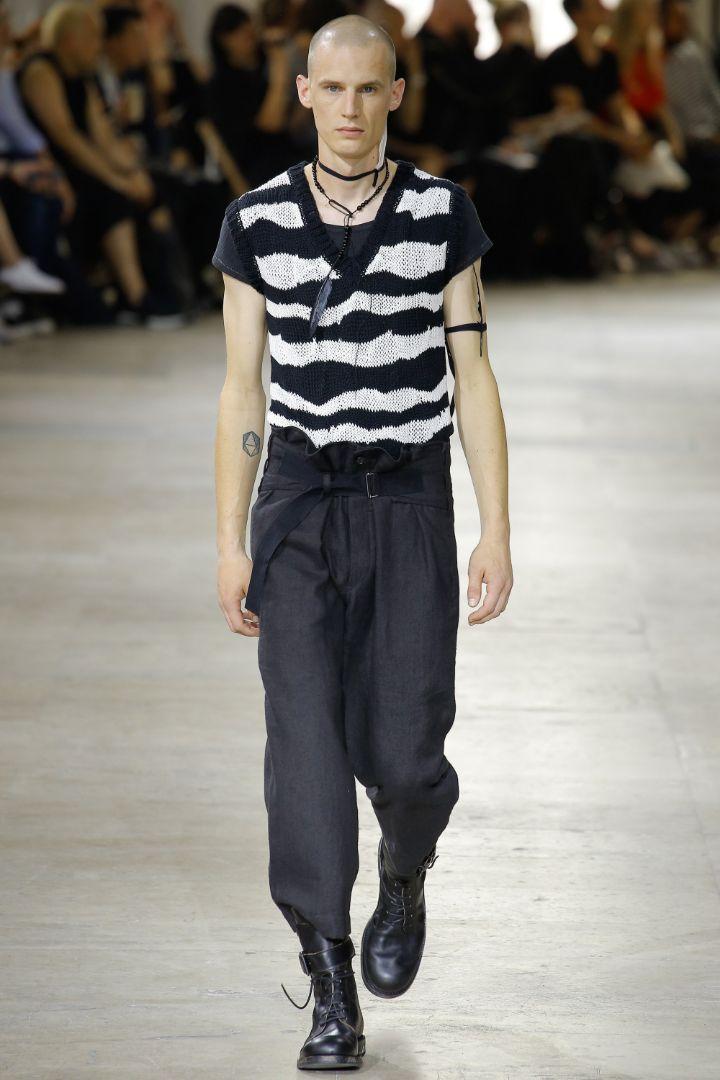 Ann Demeulemeester Menswear SS 2017 Paris (34)