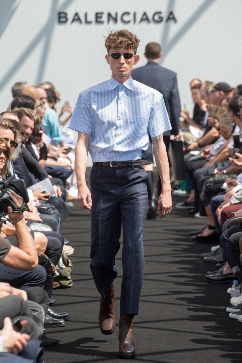 Balenciaga Menswear SS 2017 Paris (4)