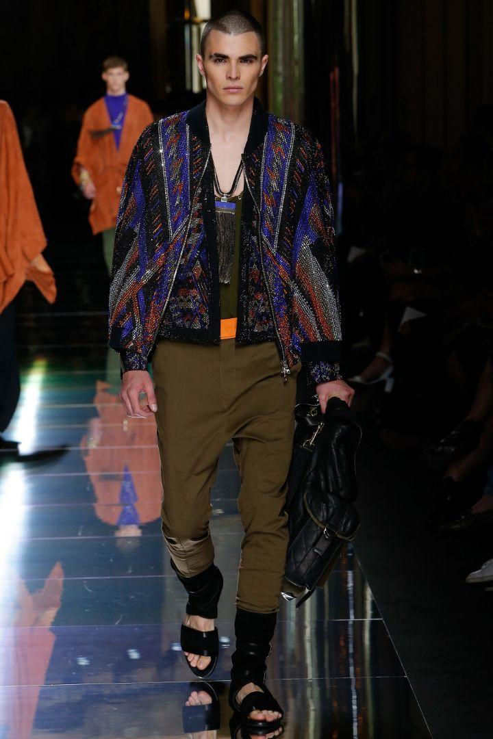 Balmain Menswear SS 2017 Paris (24)
