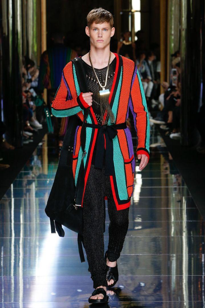 Balmain Menswear SS 2017 Paris (58)