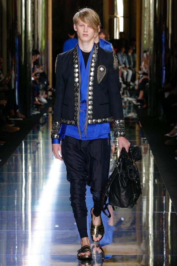Balmain Menswear SS 2017 Paris (68)