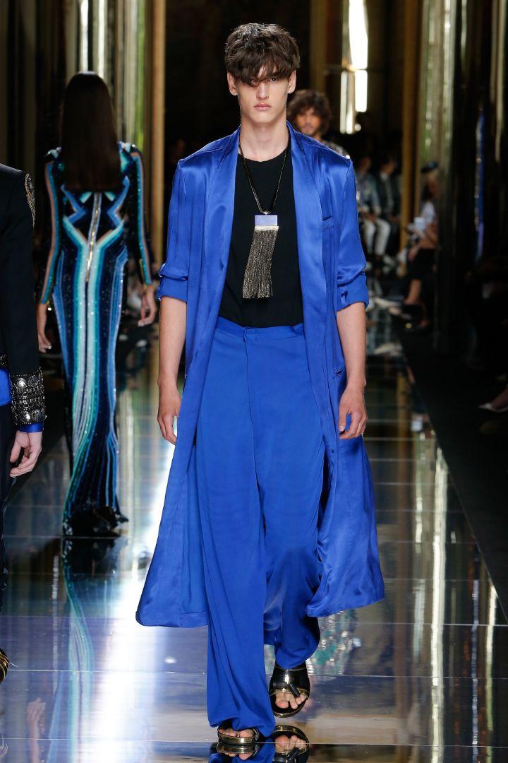 Balmain Menswear SS 2017 Paris (69)