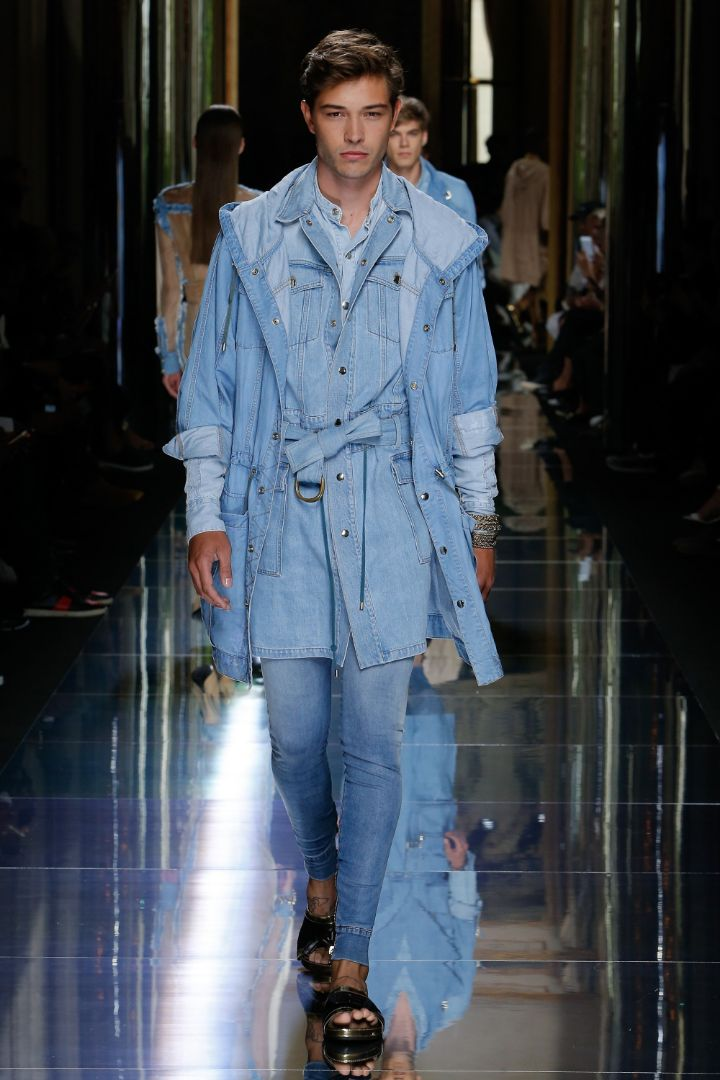 Balmain Menswear SS 2017 Paris (7)