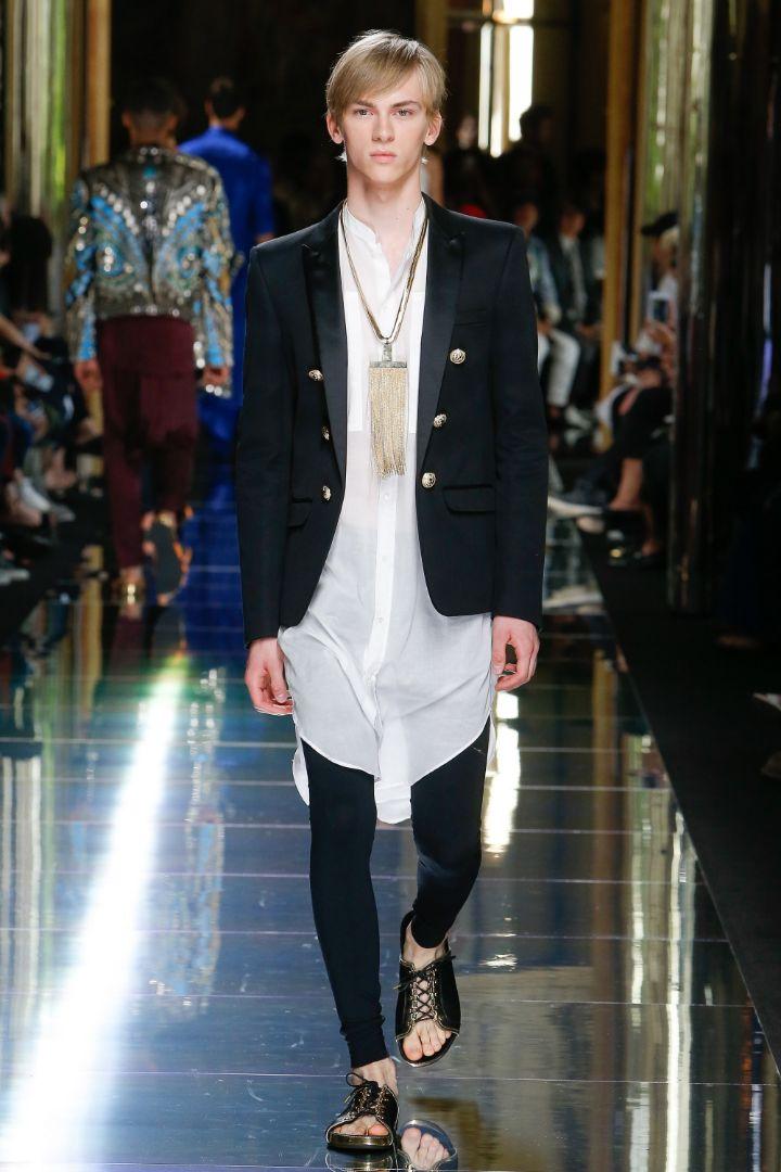 Balmain Menswear SS 2017 Paris (73)