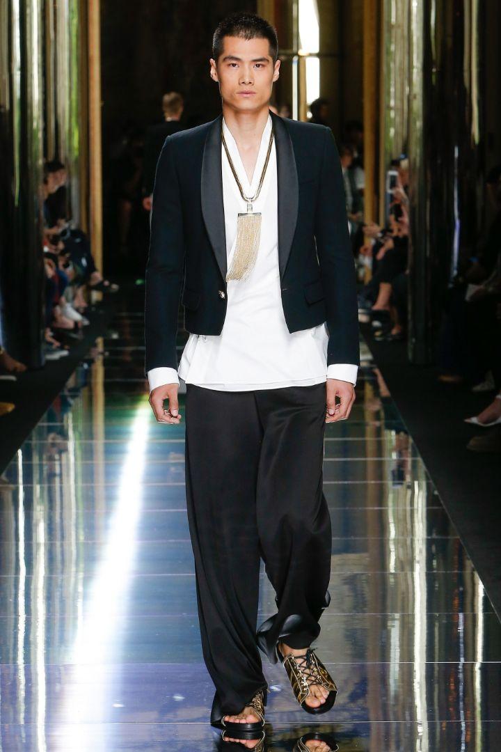 Balmain Menswear SS 2017 Paris (75)