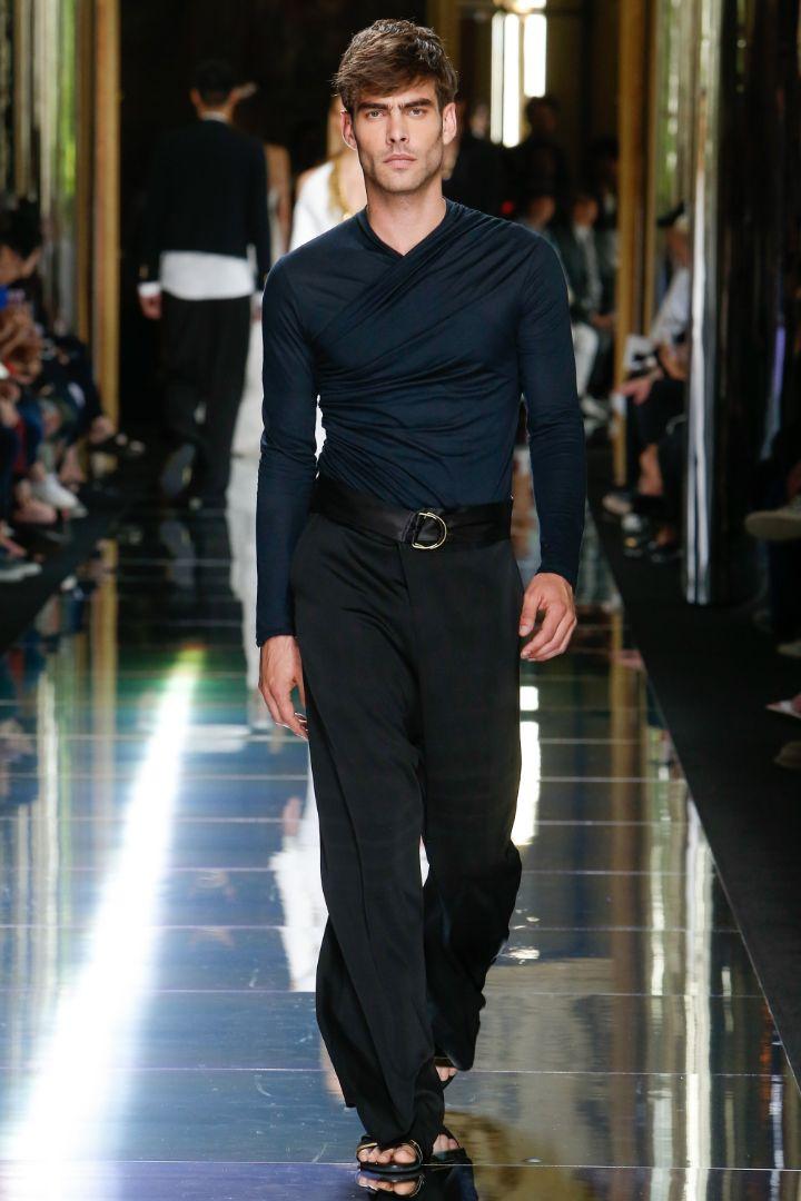 Balmain Menswear SS 2017 Paris (77)