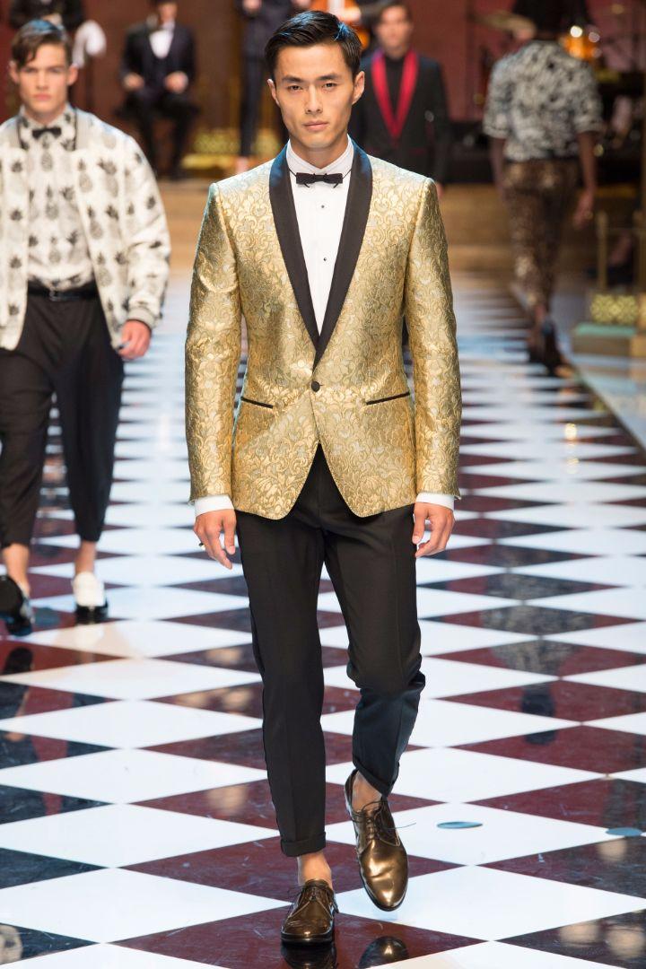 Dolce & Gabbana Menswear SS 2017 Milan (13)