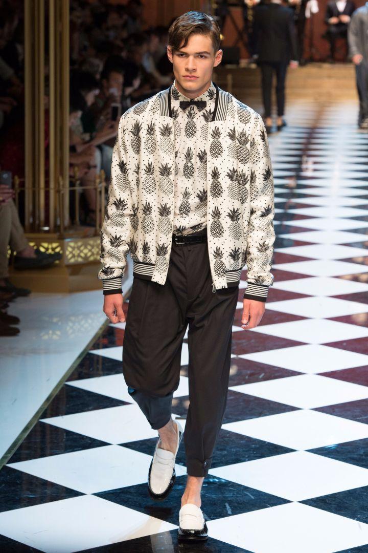 Dolce & Gabbana Menswear SS 2017 Milan (14)