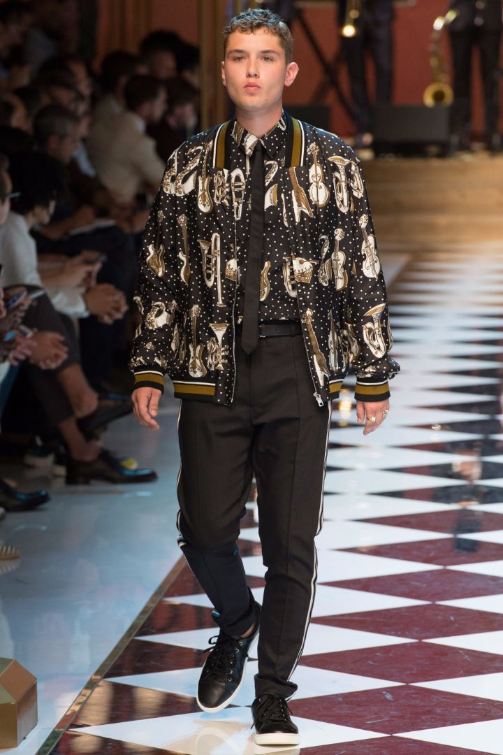 Dolce & Gabbana Menswear SS 2017 Milan (2)