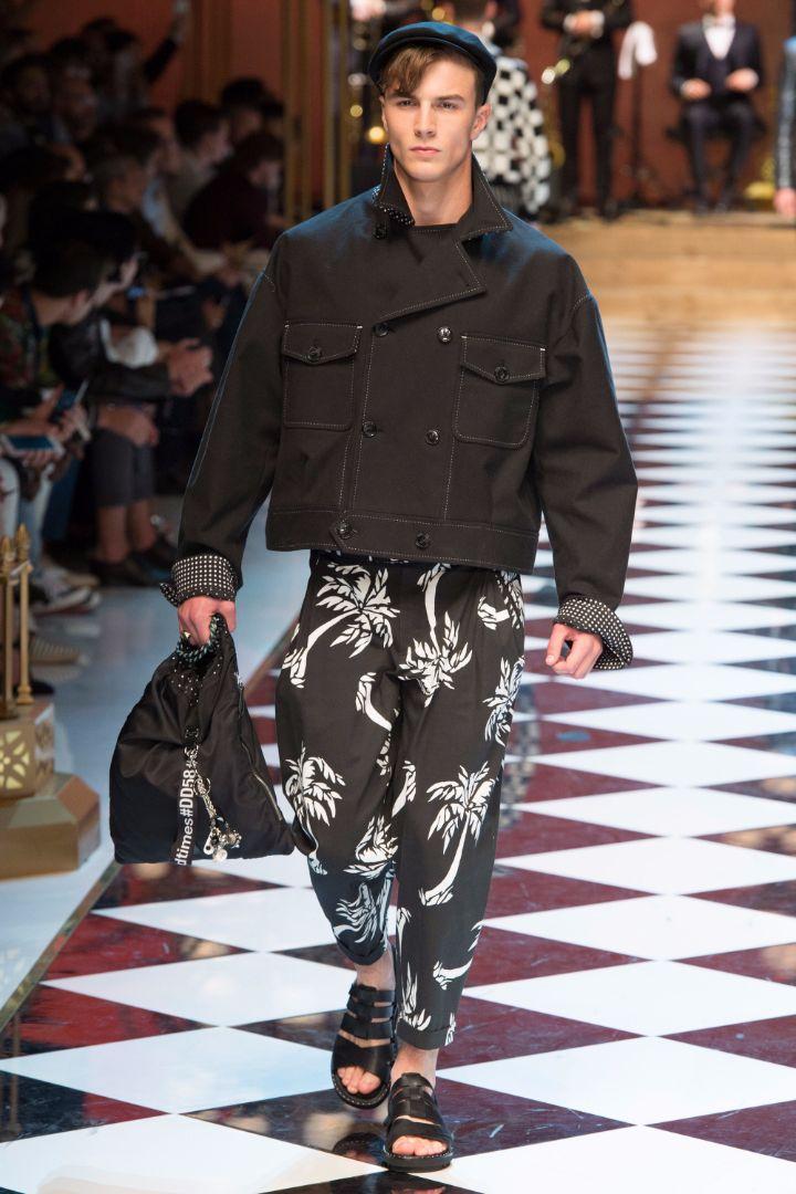 Dolce & Gabbana Menswear SS 2017 Milan (23)