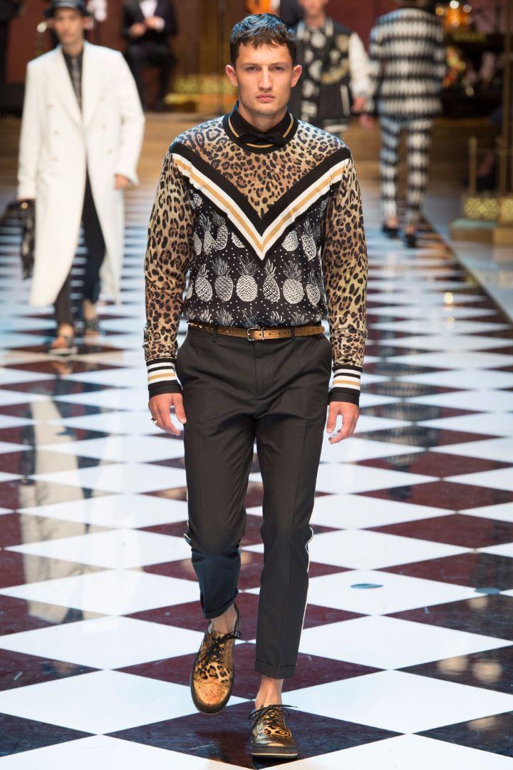 Dolce & Gabbana Menswear SS 2017 Milan (34)