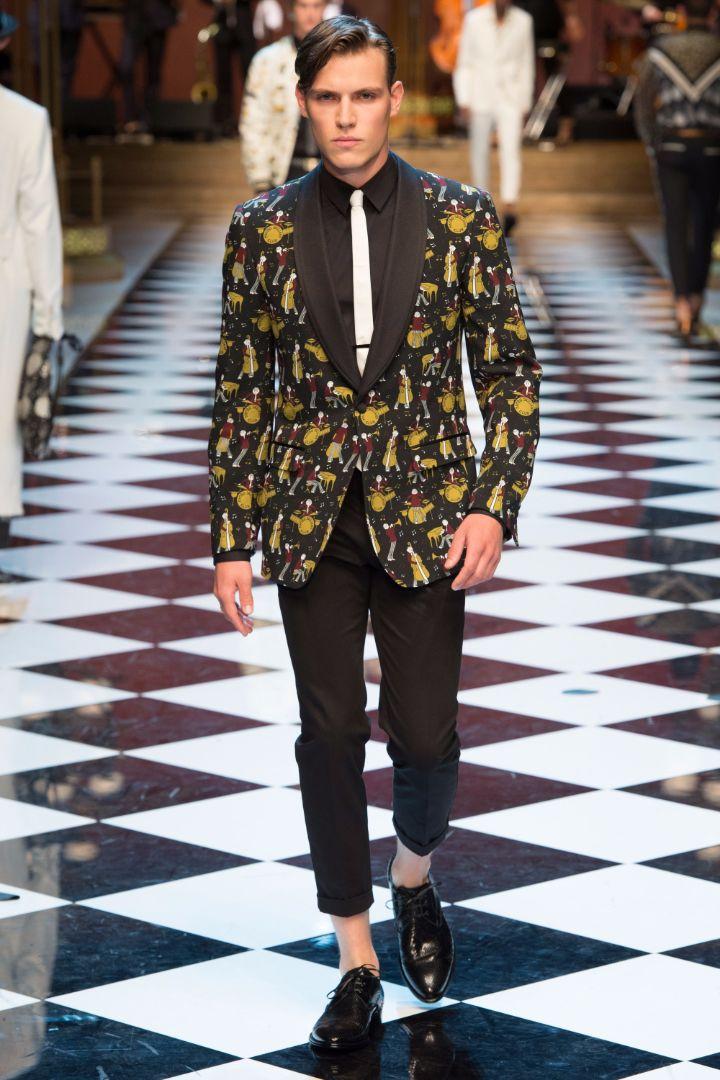 Dolce & Gabbana Menswear SS 2017 Milan (37)