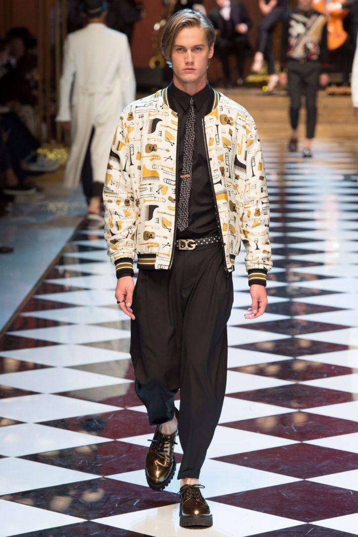 Dolce & Gabbana Menswear SS 2017 Milan (38)