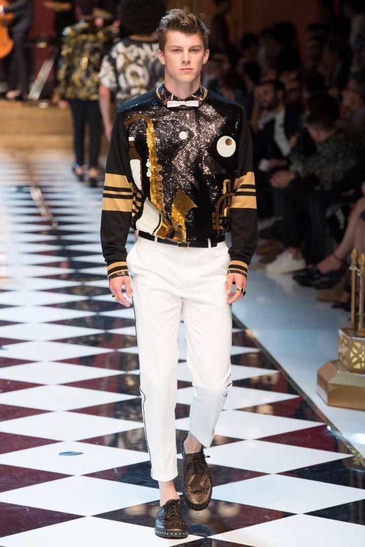 Dolce & Gabbana Menswear SS 2017 Milan (48)