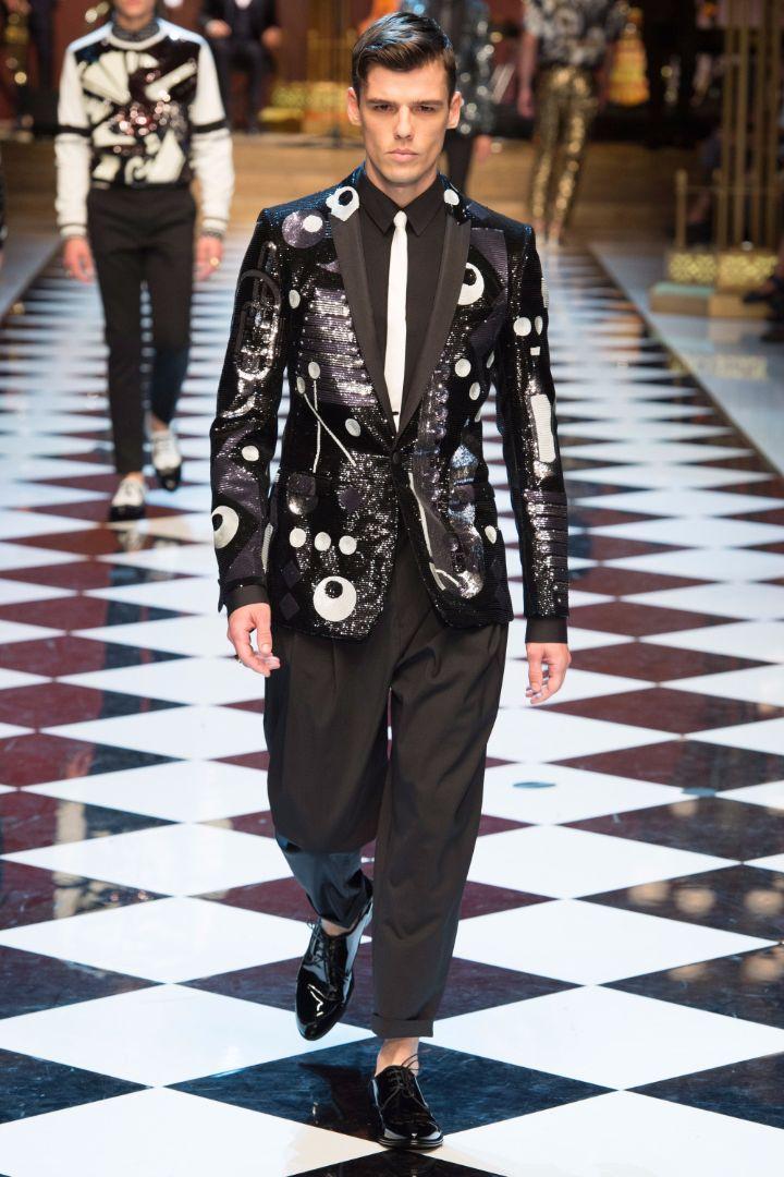 Dolce & Gabbana Menswear SS 2017 Milan (49)