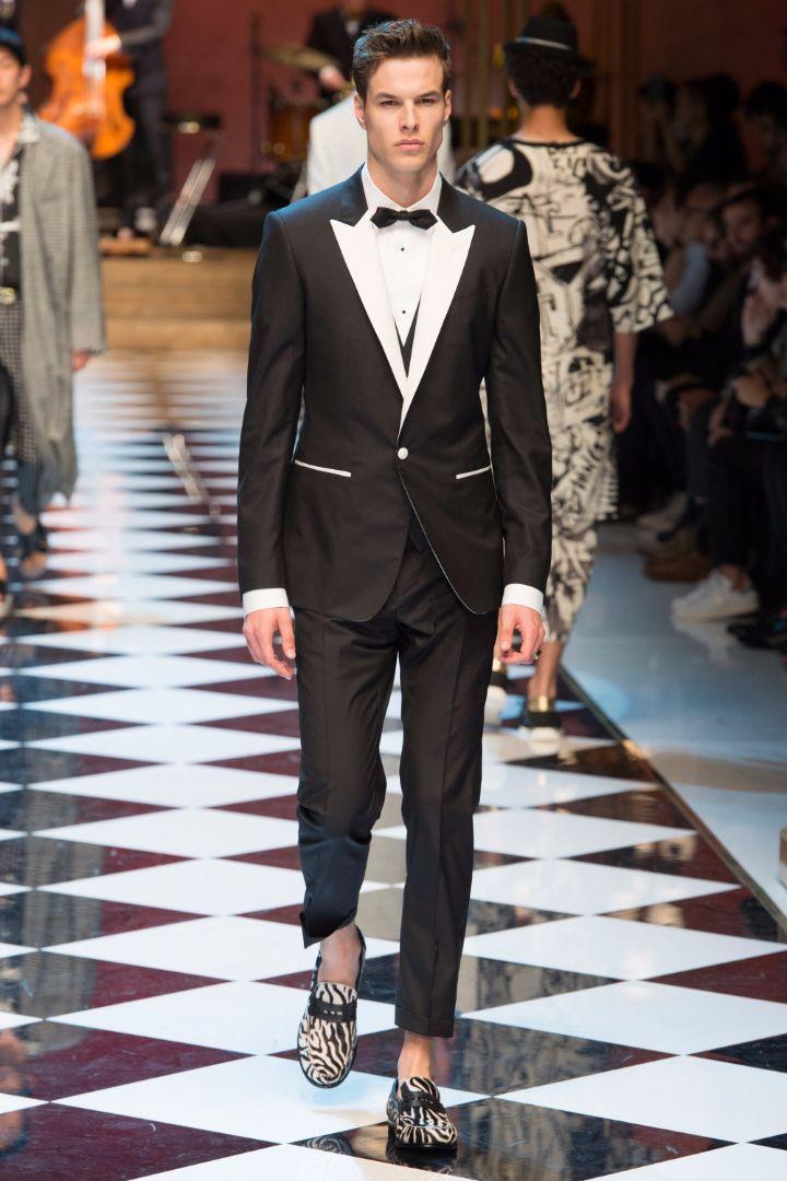 Dolce & Gabbana Menswear SS 2017 Milan (6)
