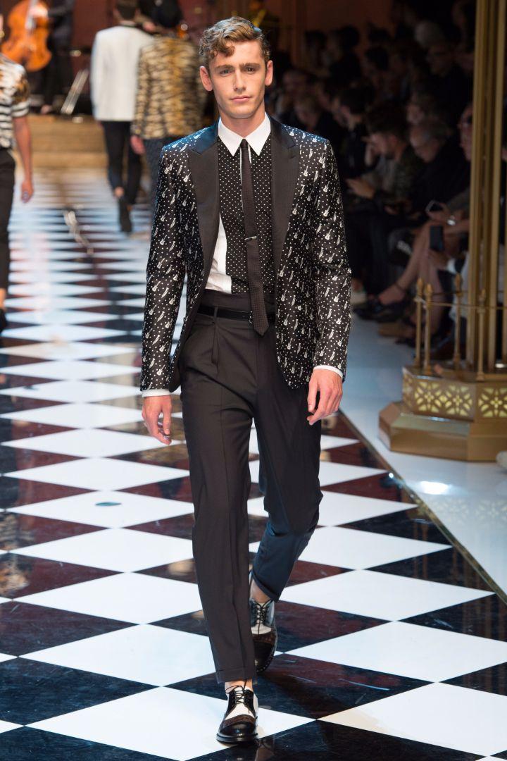 Dolce & Gabbana Menswear SS 2017 Milan (63)