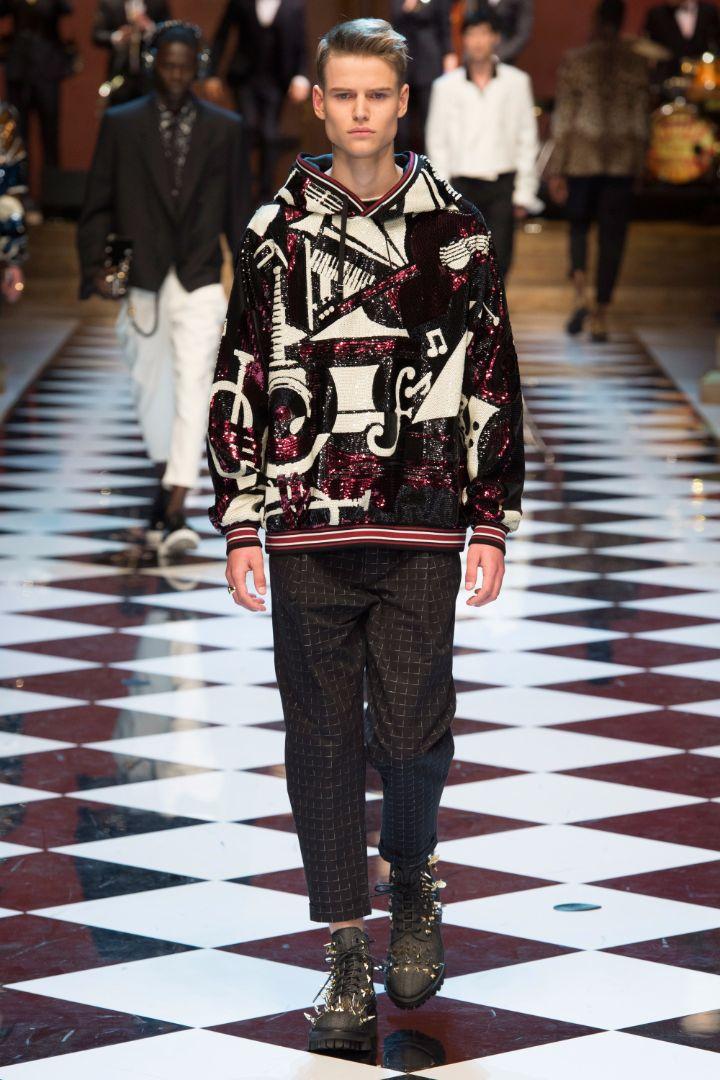 Dolce & Gabbana Menswear SS 2017 Milan (70)