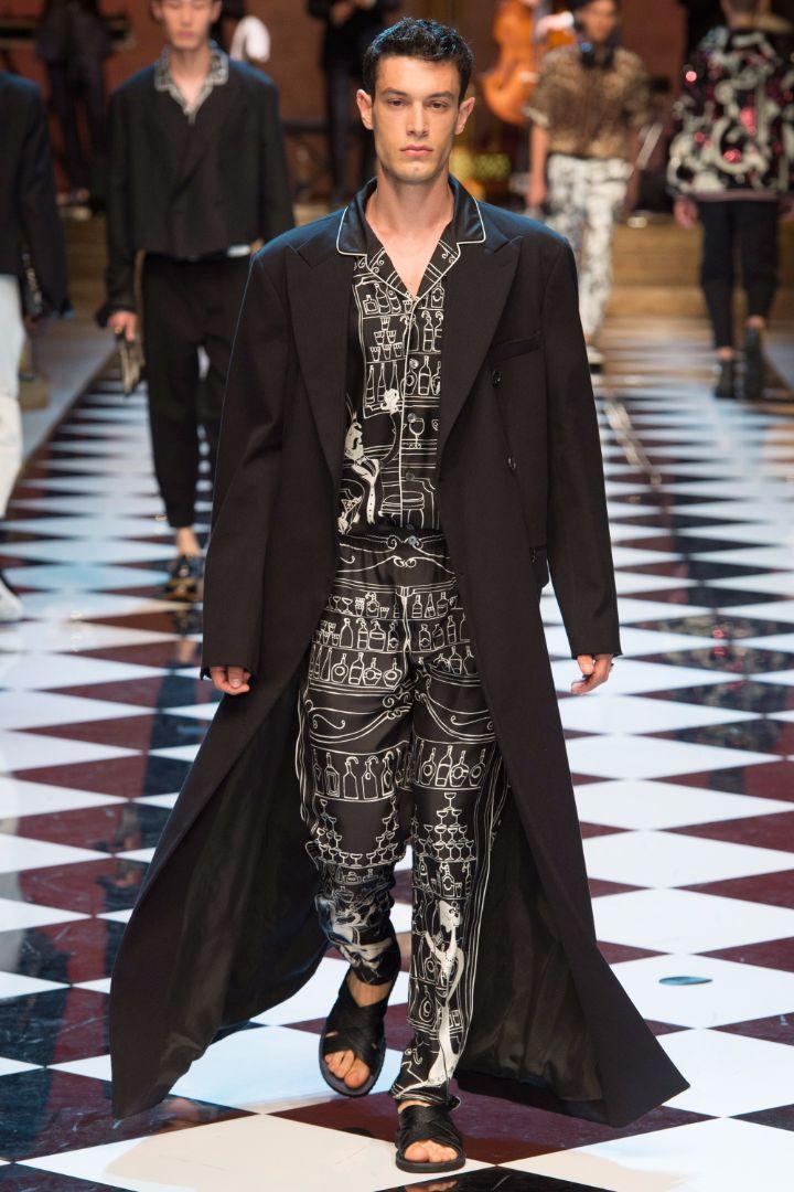 Dolce & Gabbana Menswear SS 2017 Milan (73)