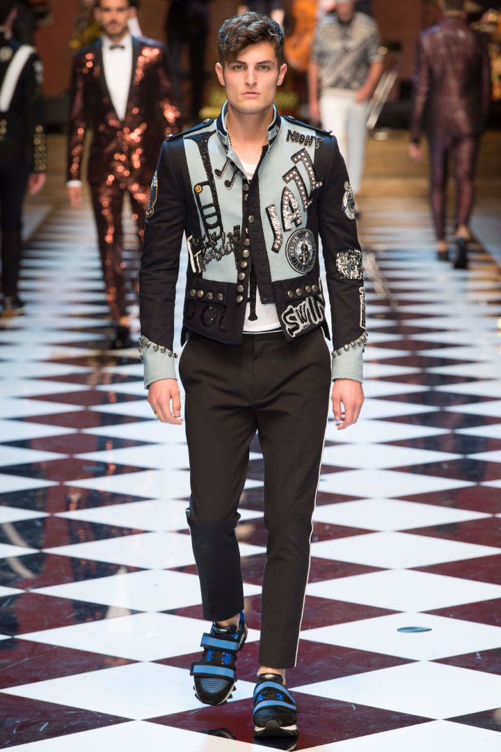 Dolce & Gabbana Menswear SS 2017 Milan (79)