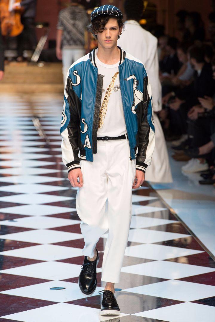Dolce & Gabbana Menswear SS 2017 Milan (84)