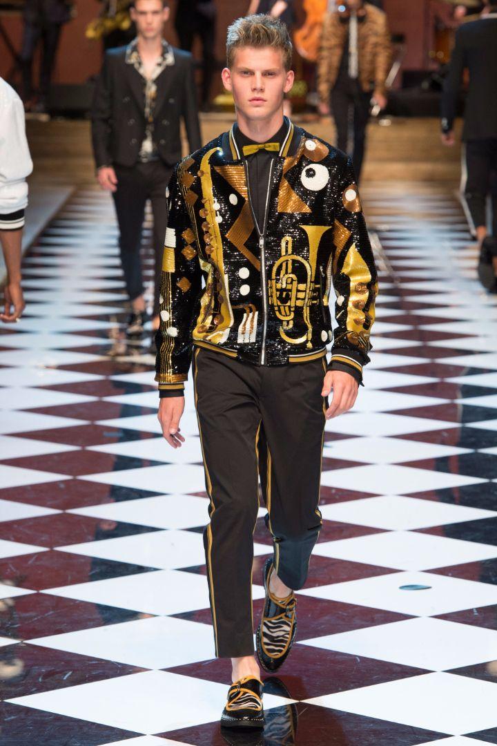 Dolce & Gabbana Menswear SS 2017 Milan (88)