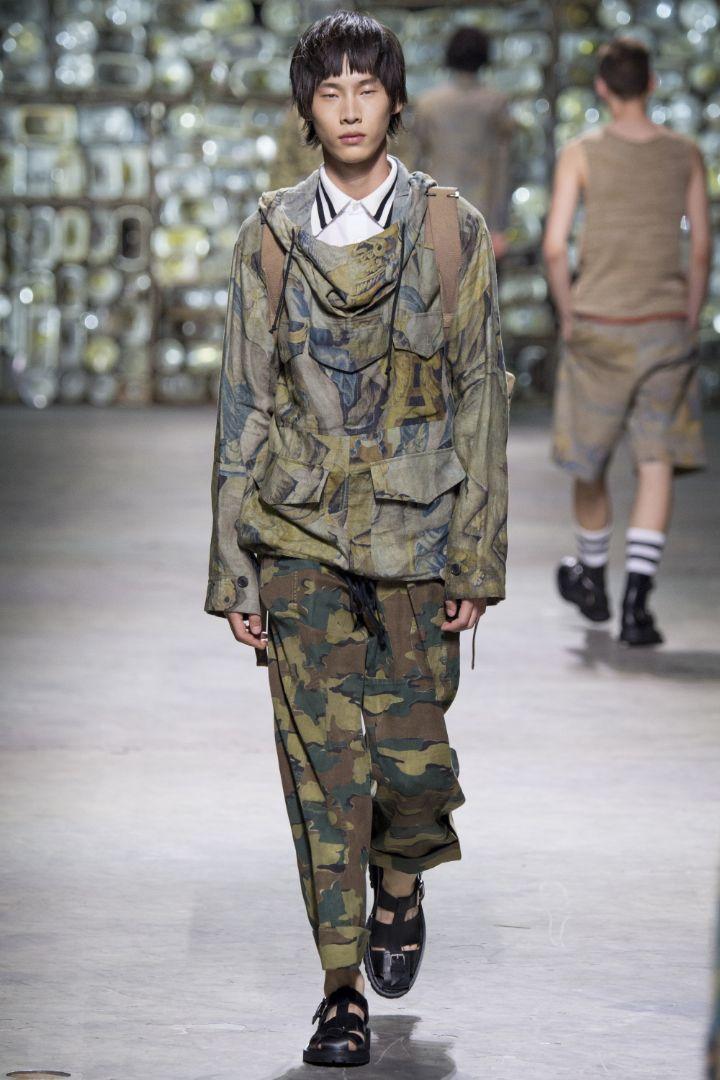 Dries Van Noten Menswear SS 2017 Paris (16)