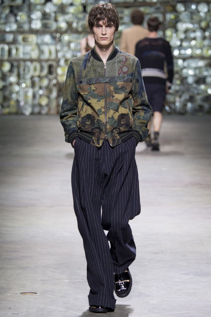 Dries Van Noten Menswear SS 2017 Paris (30)
