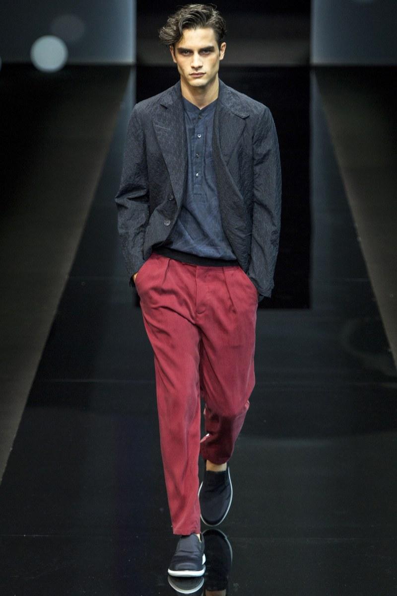 Giorgio Armani Menswear SS 2017 Milan (58)