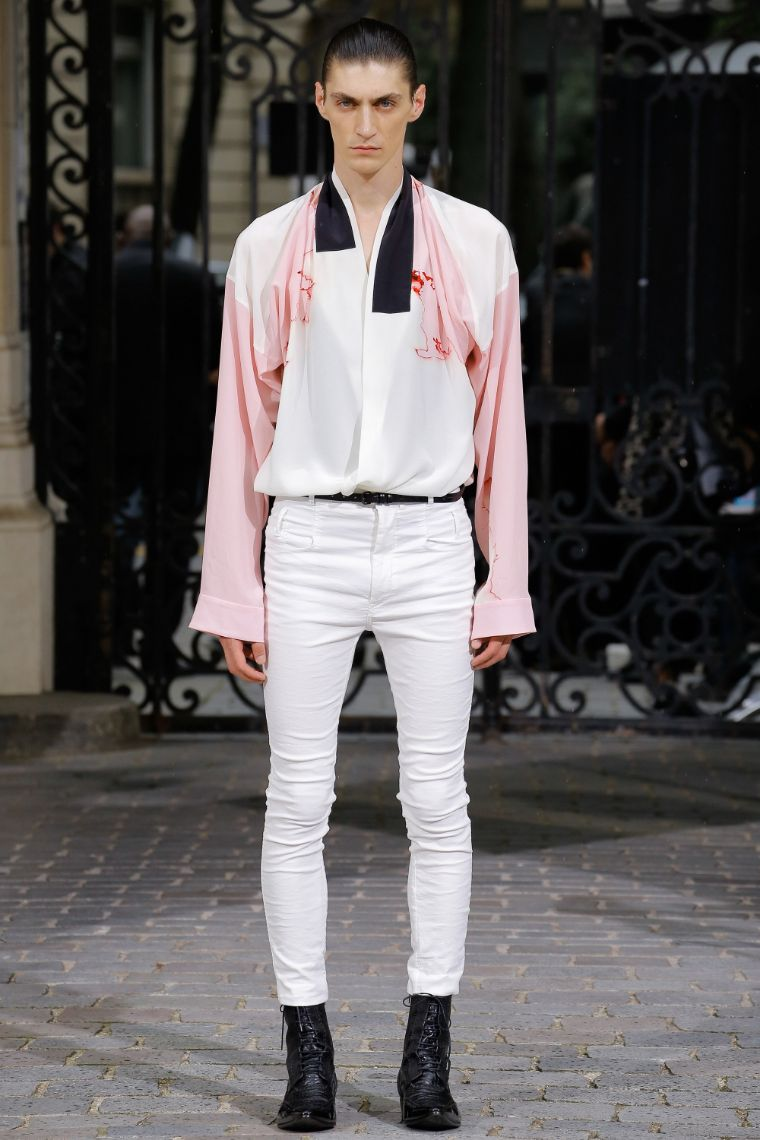 Haider Ackermann Menswear SS 2017 Paris (1)