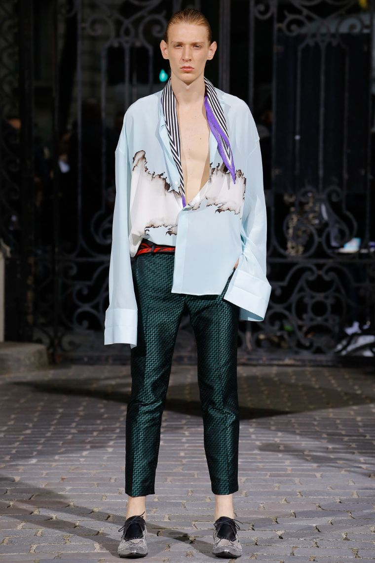 Haider Ackermann Menswear SS 2017 Paris (18)