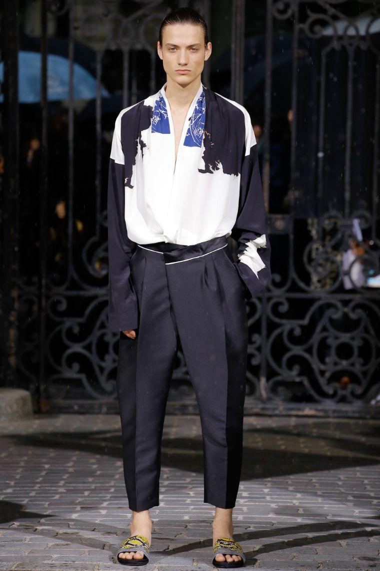 Haider Ackermann Menswear SS 2017 Paris (31)