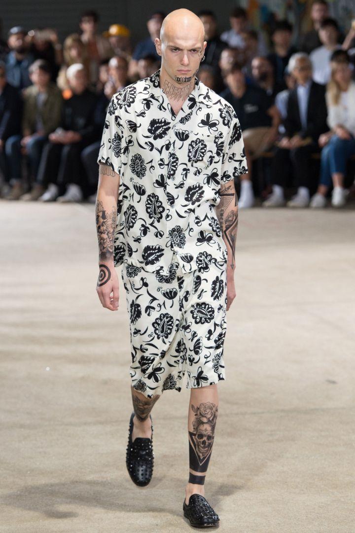 Junya Watanabe Menswear SS 2017 Paris (1)