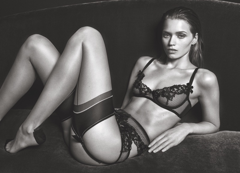 Agent Provocateur's FW 2016 Campaign ft. Abbey Lee Kershaw (4)