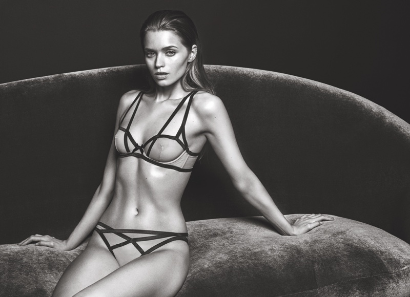 Agent Provocateur's FW 2016 Campaign ft. Abbey Lee Kershaw (5)