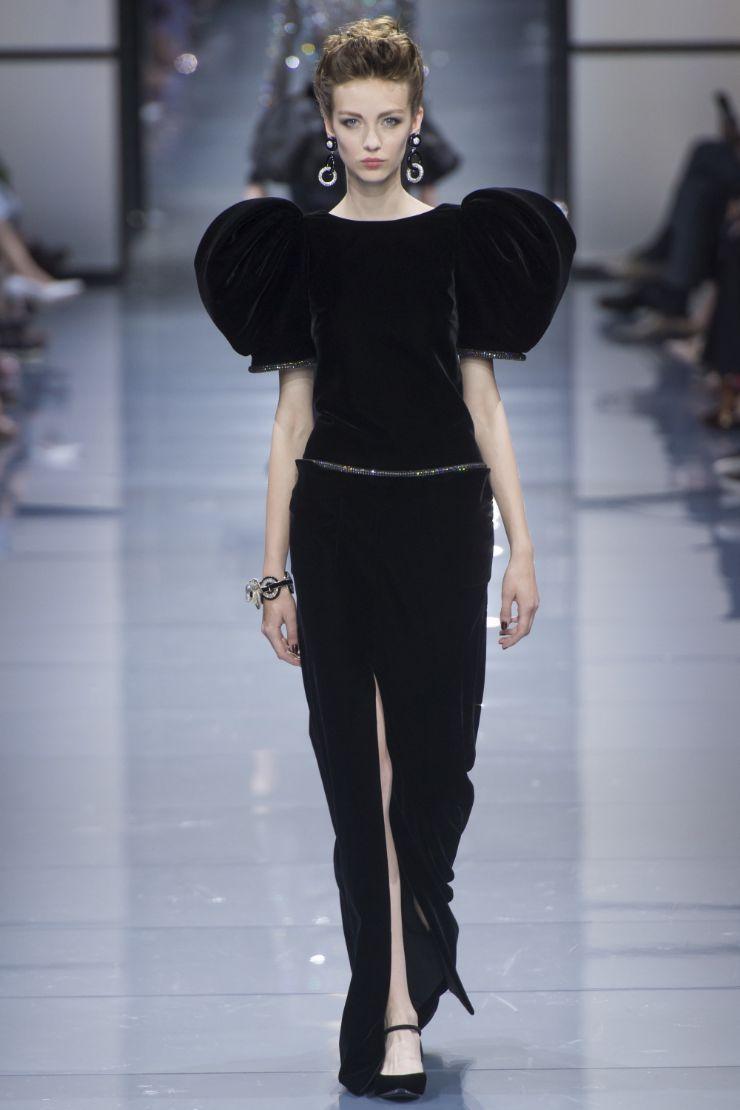 Armani Priv+¬ Haute Couture FW 2016 Paris (52)