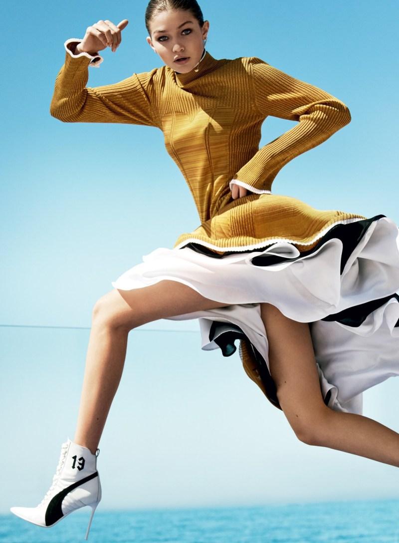 Gigi Hadid & Ashton Eaton by Mario Testino (8)