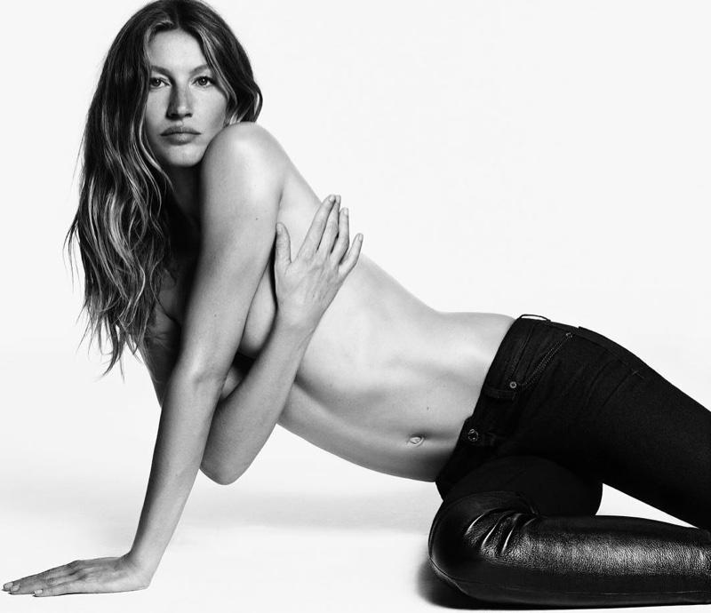 Givenchy Jeans FW 16.17 ft. Gisele Bundchen & Caua Reymond (2)