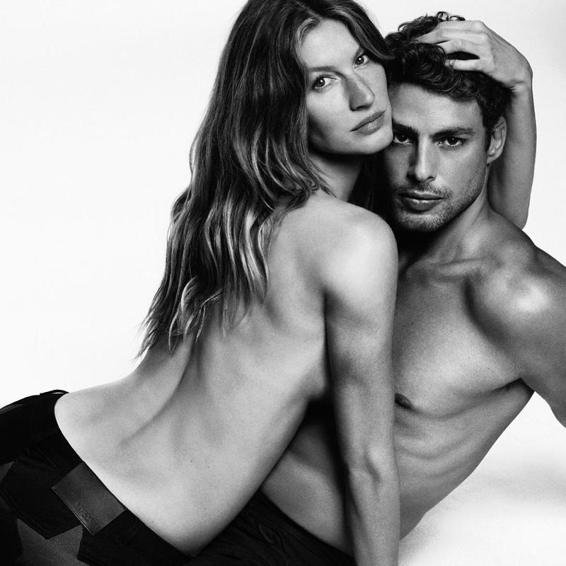 Givenchy Jeans FW 16.17 ft. Gisele Bundchen & Caua Reymond (3)