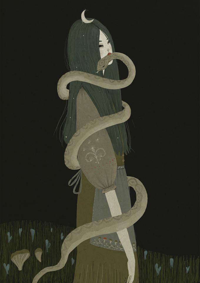 Illustrations by Alexandra Dvornikova (4)